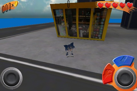 Screenshot Action Cat 3D Free